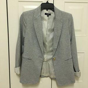NWOT Heather Grey blazer size XS